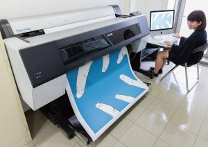 大型プリンター・最大B0サイズポスターが出力できます。