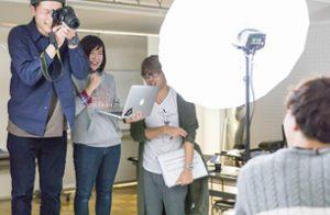 プロカメラマンと写真撮影