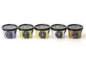 カップアイスの商品企画とパッケージデザイン 広告パッケージ