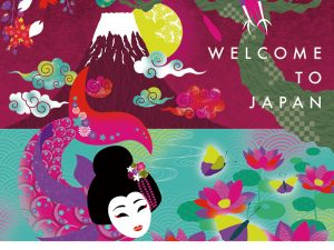 Welcome to Japan 授業:進級制作