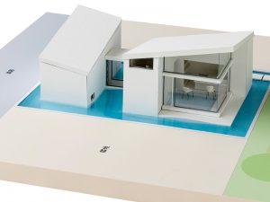 水と光に出会う家(小住宅の設計) 進級制作1 1年次