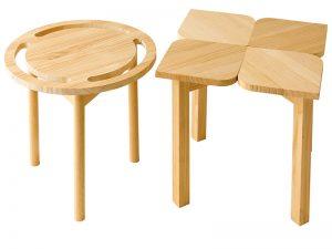 重ねられるスツール 家具デザイン 3年次
