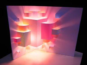 ◆作品タイトル「飛び出す光色」