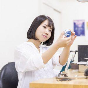 ジュエリーデザイン科 鶴飼涼さん
