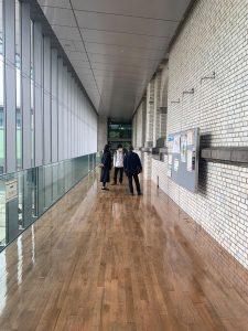 現代建築論の授業で上野公園周辺の建物の見学に行ってきました