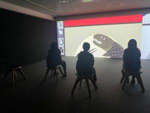 ビジュアルデザイン科 見学
